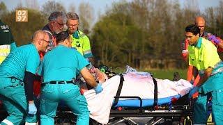 Traumahelikopter landt bij ernstig ongeval N201 Waverveen - 0297.nl