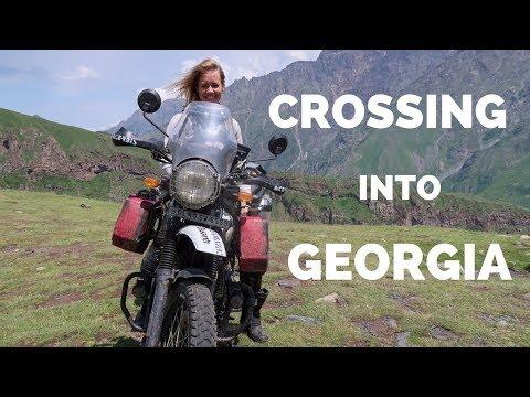 [Eps. 96] CROSSING INTO GEORGIA - Royal Enfield Himalayan BS4