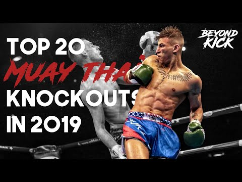 Top 20 Muay Thai KNOCKOUTS In 2019