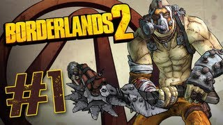 Borderlands 2 - Walkthrough Part 1 Krieg The Psycho Gameplay No Commentary