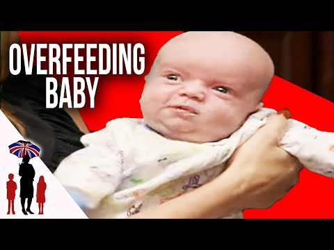 Parents So Busy With 4 Children They Overfeed Newborn Baby | Supernanny