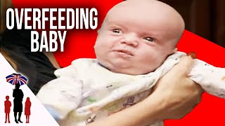 Parents So Busy With 4 Children They Overfeed Newborn Baby | Supernanny USA