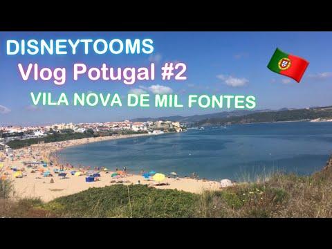 Vlog Portugal #2 VILA NOVA DE MIL FONTES