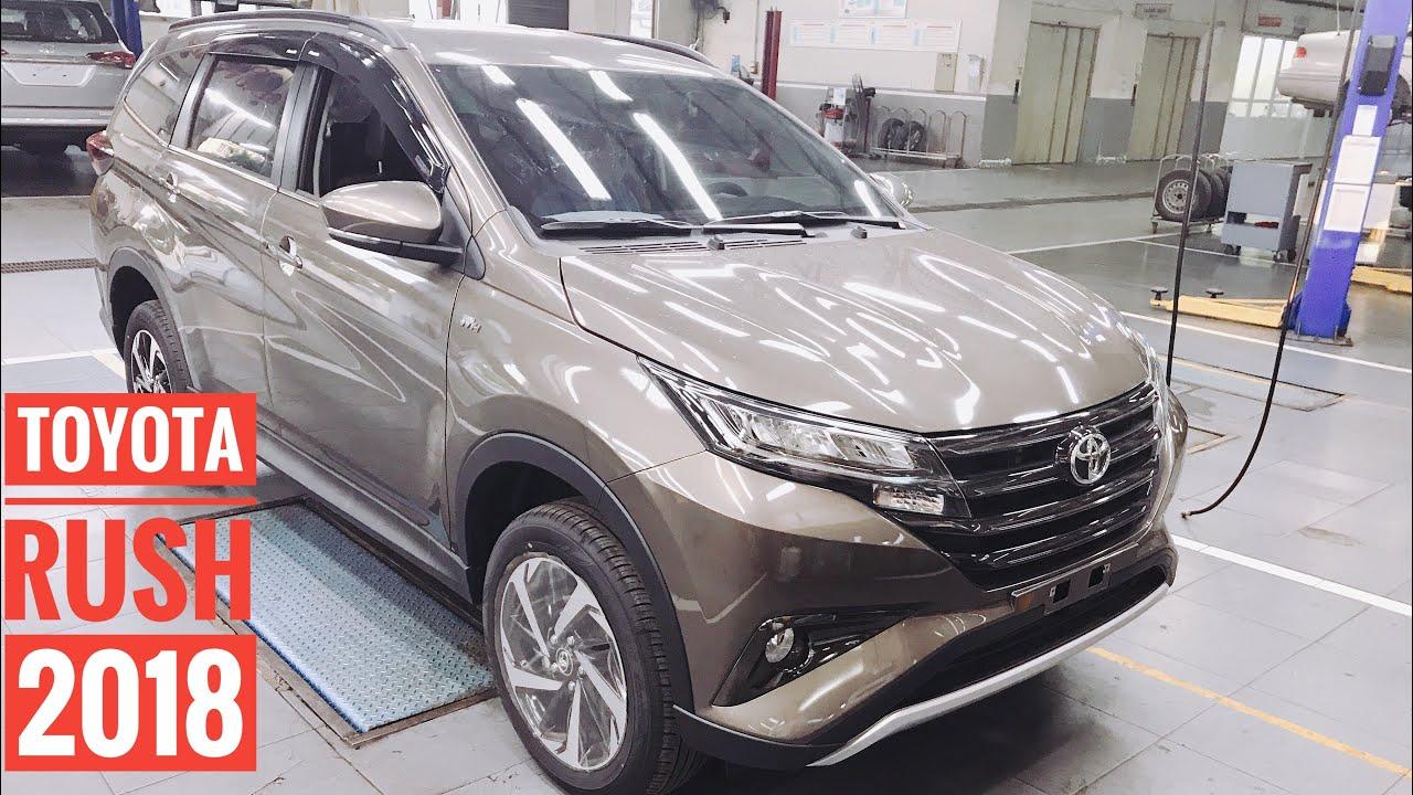 Đánh giá Toyota Rush 2019 màu nâu đồng. Giá 668 triệu giao xe.