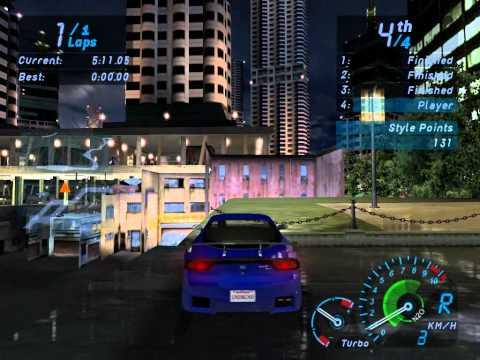 Need For Speed: Underground - Free Roam mod progression