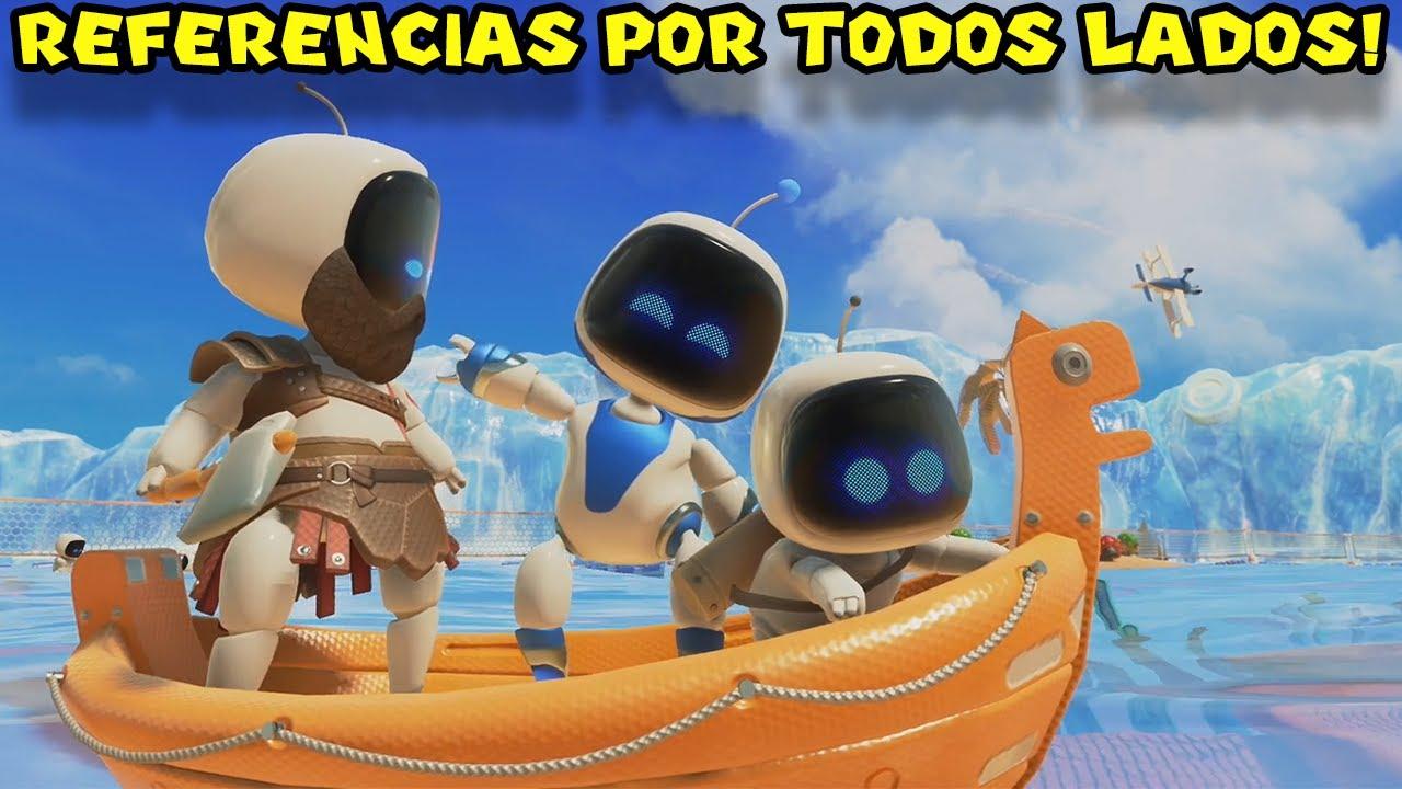 REFERENCIAS POR TODOS LADOS !! - Jugando Astro's Playroom con Pepe el Mago (#2)