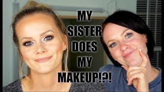 My Sister Does My Makeup!?!?!? | Allison Wilburn MUA