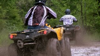 Fisher's ATV World - Father/Son Ride Wilderness Trail & 2013 Yamaha Viking Intro (FULL)