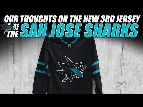 buy online 84d6b e9ffe Our Thoughts on the New San Jose Sharks 3rd Jersey - YouTube