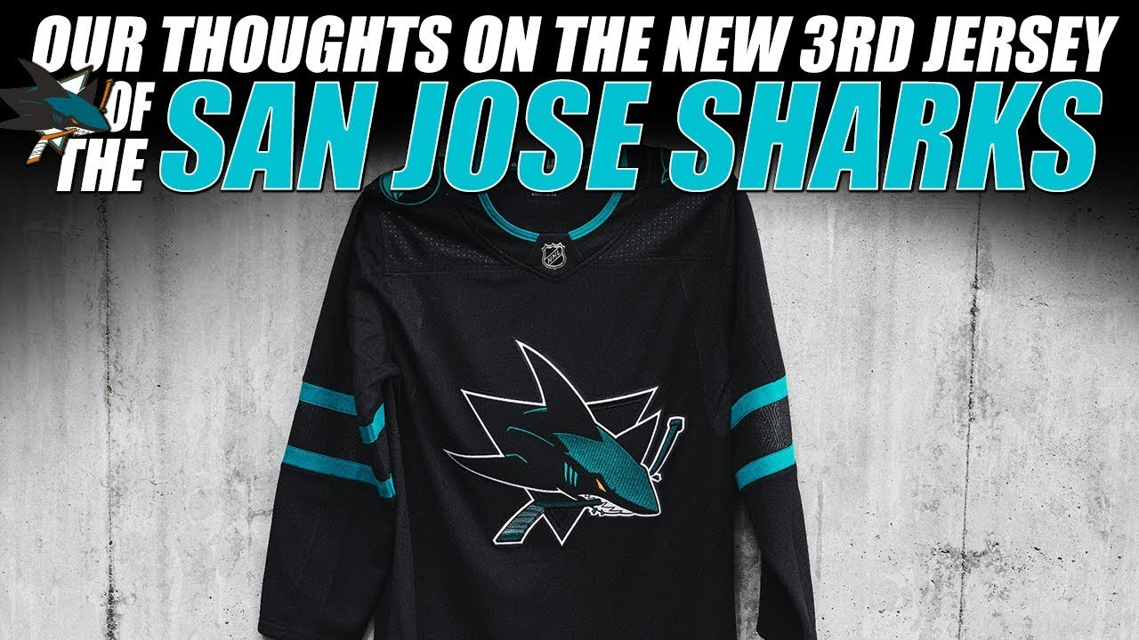 Our Thoughts on the New San Jose Sharks 3rd Jersey - YouTube 6fa0ffb1d397