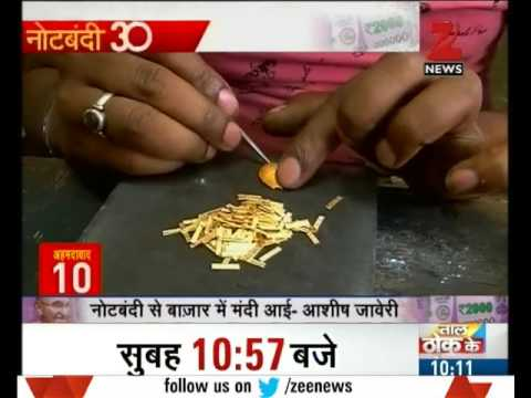 What do gold merchants of Ahmadabad think about demonetisation?