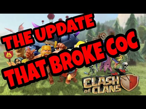 *NEW UPDATE* JUST BROKE CLASH OF CLANS! BAT SPELL INSANE! STONE SLAMMER OP!