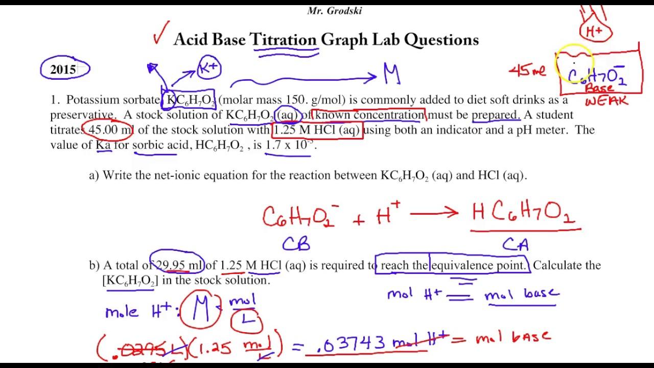 worksheet. Titration Problems Worksheet. Grass Fedjp ...