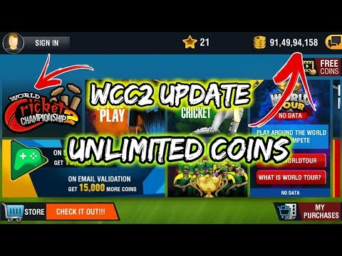 WCC2 Update Version || Unlimited Coins ( Without Root )