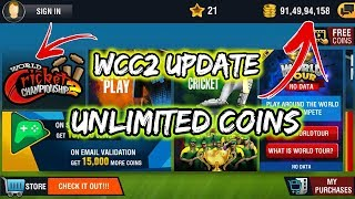 WCC2 Update Version Hack || Unlimited Coins ( Without Root )