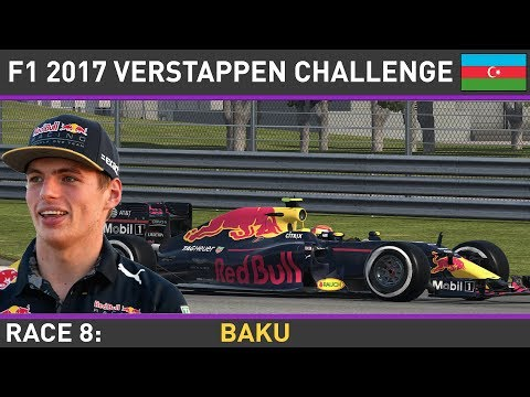 F1 2016 - Make Verstappen World Champion Race 8- Azerbaijan Grand Prix