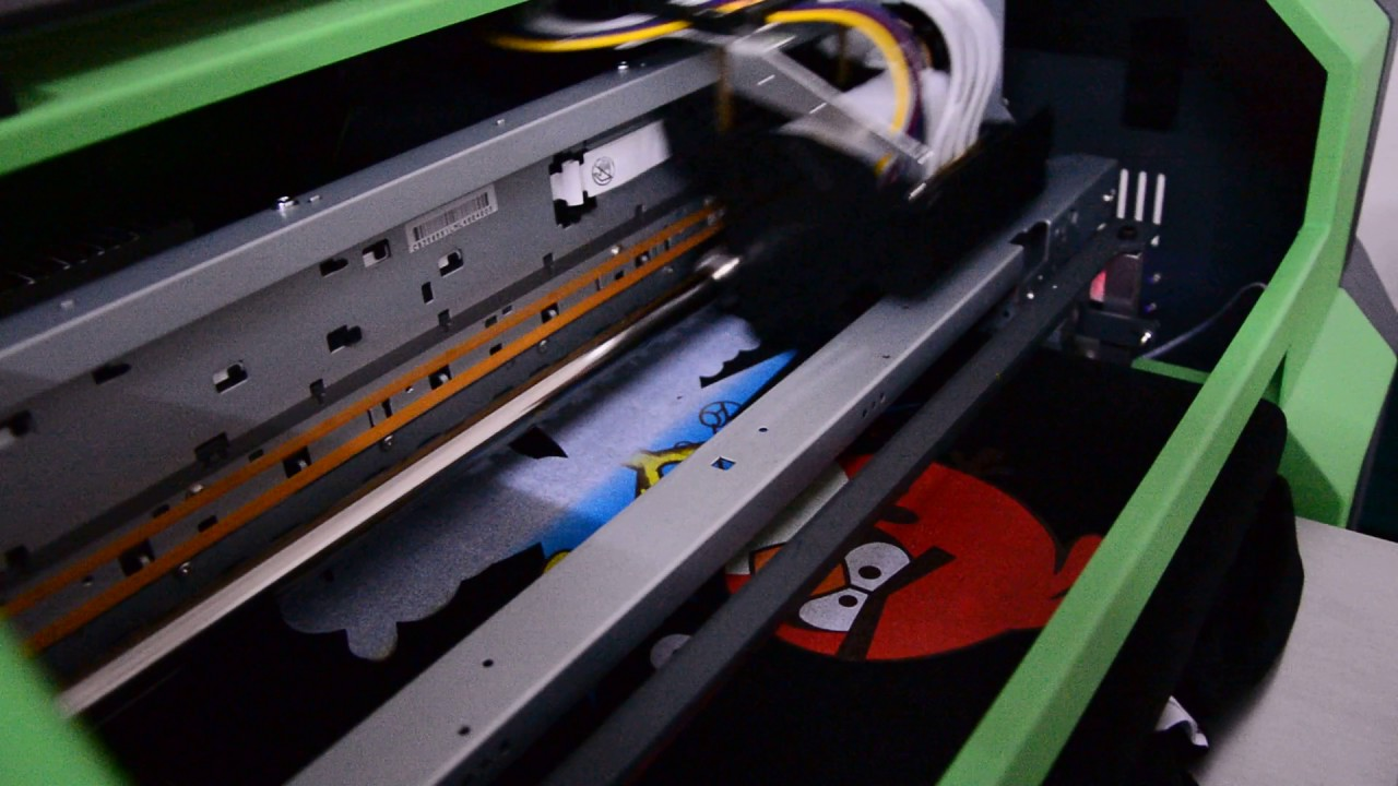 Color printing quality - Black T Shirt Printer Dtg Printer High Printing Quality With Vivid Color