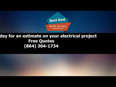 Greer SC Electrician - Residential Electrician - Commercial Electrician
