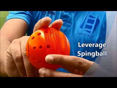 SpingBall- Ball for Batting and Wicketkeeping Practice