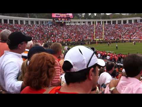 UVA football game and Good Old Song