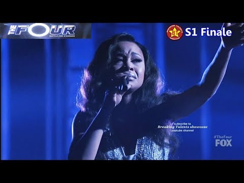 Evvie Mckinney vs Candice Boyd - Evvie sings Glory Candice sings Stay The Four Finale