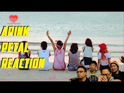[4LadsReact] APINK (에이핑크) - Petal (꽃잎점) MV DOUBLE REACTION