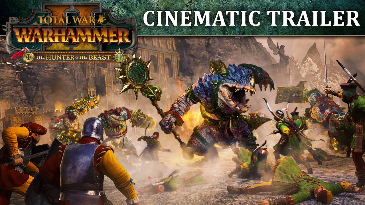 Total War Warhammer 2 The Hunter And The Beast Will Introduce New Lords His skill with the sword went beyond perfection and was undefeatable in battle, after a battle with the exceptional expert dugu qiubai who had gone missing over a hundred years ago, jian chen. total war warhammer 2 the hunter and