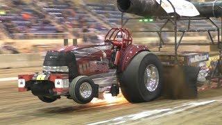 Alcohol Super Stock Tractors Pulling At Keystone Nationals
