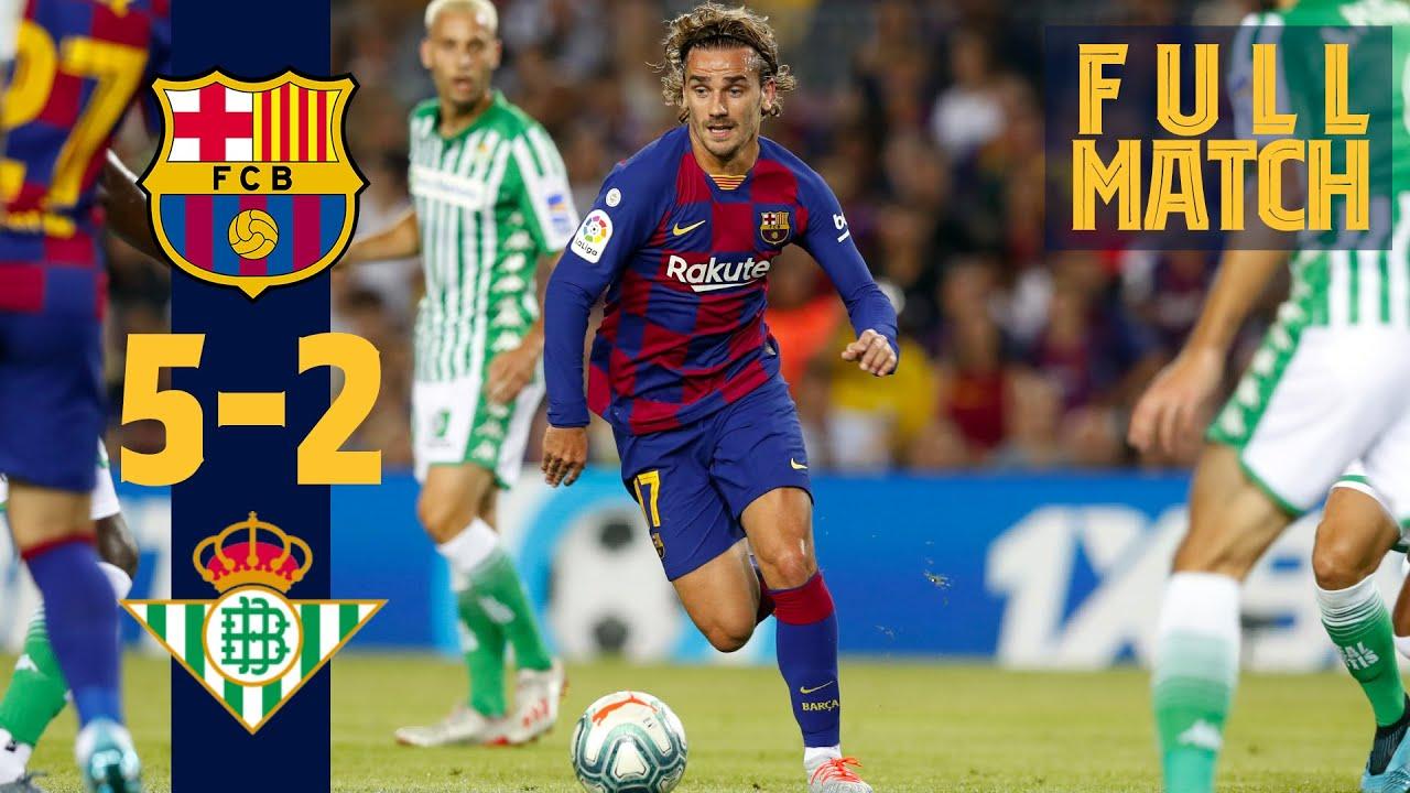 Download FULL MATCH: Barça 5 - 2 Real Betis (2019) Five star performance lights up the Camp Nou!