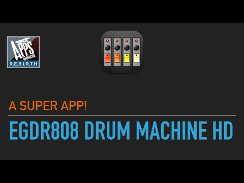 EGDR808 Drum Machine HD v2.14