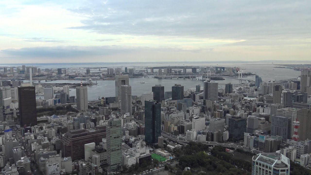 Tokyo Tower Main & Special Observatory - Tokyo, Japan - 4K UHD