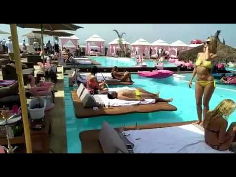 Flamingo beach club casablanca Summer 2017