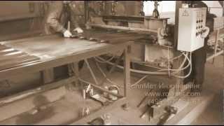 Производство металлочерепицы. В 21 как в 18. Было...