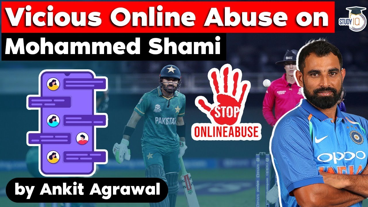 Download Mohammed Shami abused online after India loses to Pakistan - What is Online Harassment? UPSC MPSC