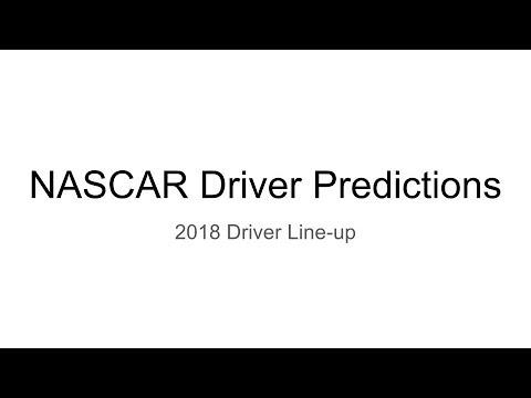 NASCAR 2018 Driver Predictions  Vlog 2  YouTube