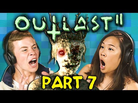 DESCENT INTO DARKNESS!! | OUTLAST 2 - Part 7 (React: Horror Gaming)