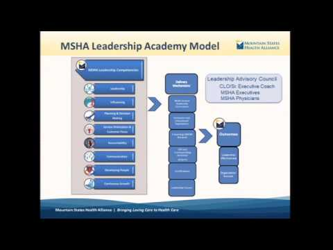 """Leadership Competency Approach: Training Leaders with Organizational Values"" with Mountain States"