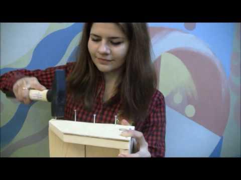 Как самому сделать полку для цветов. How To Build A Wooden Shelf.