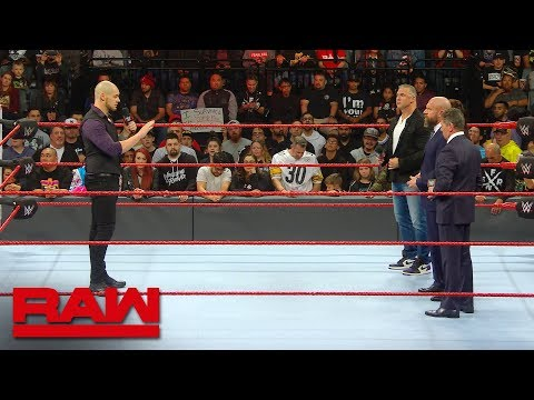 Baron Corbin explains his methodology to the McMahon family: Raw Exclusive, Dec. 17, 2018