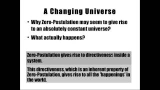 Zero-Postulation or Null-Postulation and Abstraction