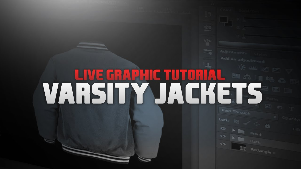 Varsity Jackets L Design Tutorial  2