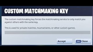 #custommatchmaking #scrims #fortnite CUSTOM MATCHMAKING Lobbys (WINNER SHOUTOUTS SUBS ONLY) (NAE)