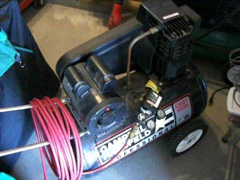 Campbell Hausfeld Air Compressor Youtube