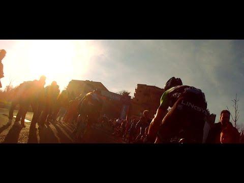 David Millar - The Muro di Guardiagrele Climb - Tirreno-Adriatico 2014.