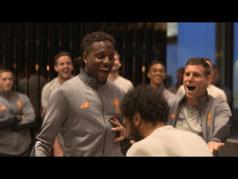 LFC's epic Rock, Paper, Scissors challenge | Milner judges Hong Kong squad tournament