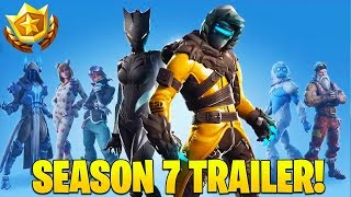 Fortnite Season 7 Battle Pass - Fortnite Season 7 Official Trailer