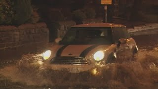 Weather warning as storm batters Britain