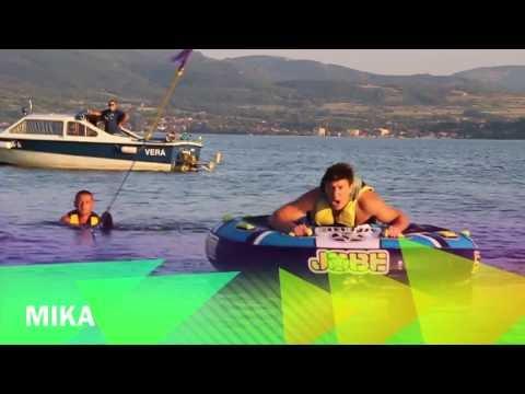 Funny water sports Vinci 2013 Danube
