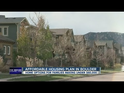 Affordable housing plan in Boulder