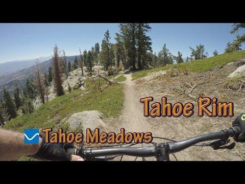 Best Mountain Biking In Lake Tahoe, CA - Tahoe Rim Trail